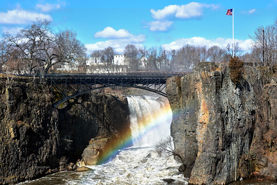 Great Falls Passaic River - Winter Rainbow