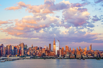 Manhattan at Sundown