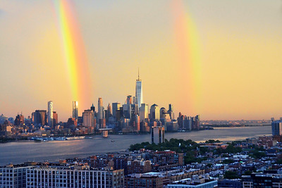 NY-NJ-HudsonRiver Double Rainbow