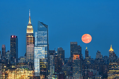NYC-Summer Solstice Strawberry Moon