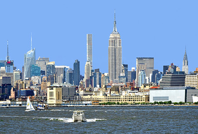 NY Skyline - River View