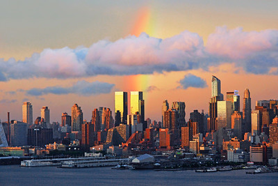 NYC Rainbow Skies