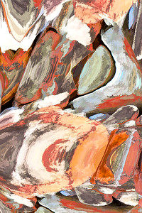 Abstract-Color Rocks