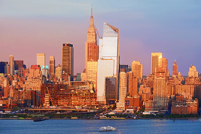 Manhattan Skyline Sundown