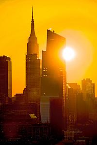 NY-Empire Stat Building Sunriser