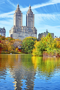 San Remo Towers and Central Park Lake