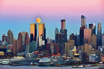 Beaver Moonrise NYC