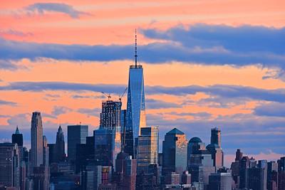 NYC Downtown Sundown