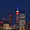 Empire State Building Veteran's Day