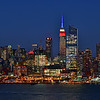 NYC -celebrating Red White and Blue