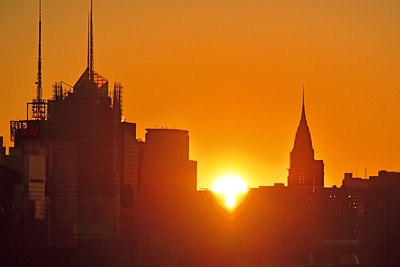 NYC Sunrise and Spires