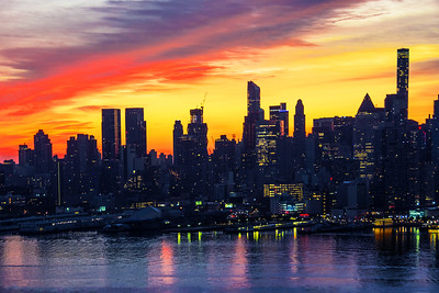 NYC End of Summer Sunrise