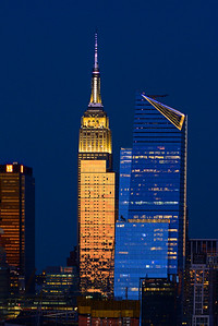 NYC in Blue and Gold