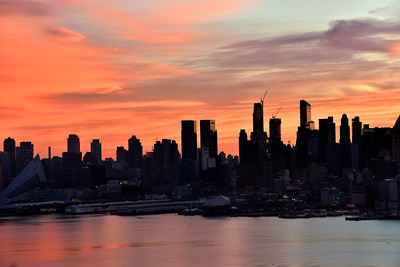 Pastel Sunrise NYC