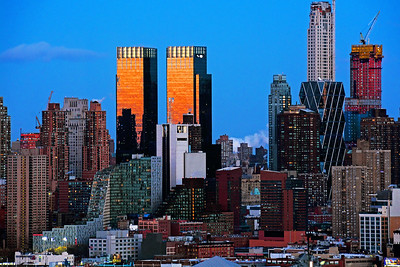 NYC Last Sundown of the Year