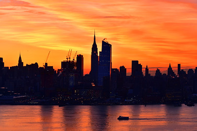 NYC Valentine Day Sunrise