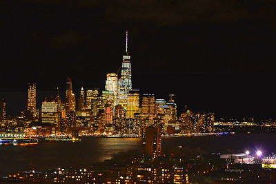 NYC Lower Manhattan by Night