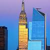 NYC Empire State Building Sundown Hues