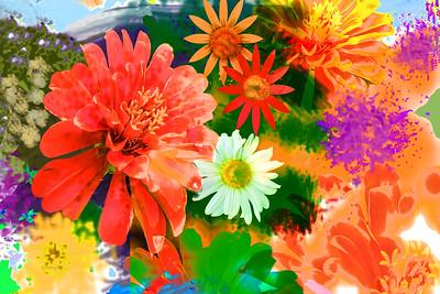 Summer Garden Art