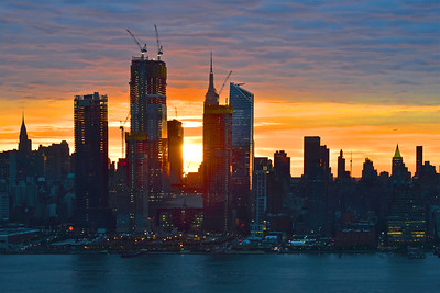 NYC Blue Sunrise