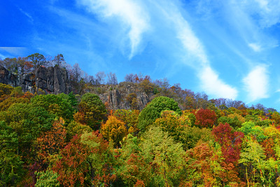 Peak of Autumn NJ Palisades