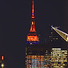 NYC -Empire State Building Halloween Colors