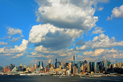 NYC under the Clouds