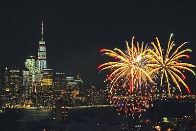 Italian Feast Fireworks-Hoboken NJ