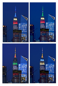 Empire State Building honors countries