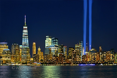 NYC Tribute in Light 2017