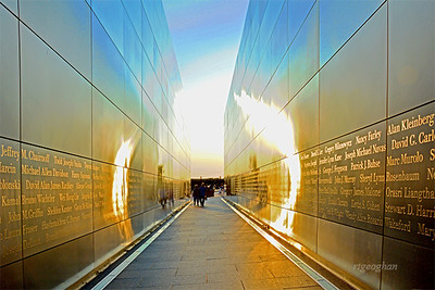 Empty Sky Memorial Sundown Light