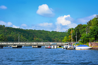 Lake Hopatcong NJ-River Styx Bridge