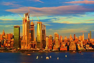 Sailing at Sundown NYC-NJ