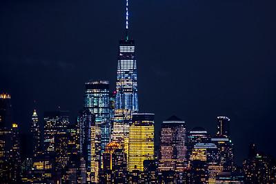 One World Trade Night View