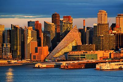NYC Honey-hued Sundown