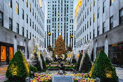 Christmas Tree Rockefeller Center Mall