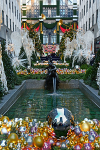 Holiday Channel Garden Decorations NYC
