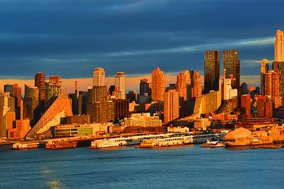City Sundown in Honey Gold.