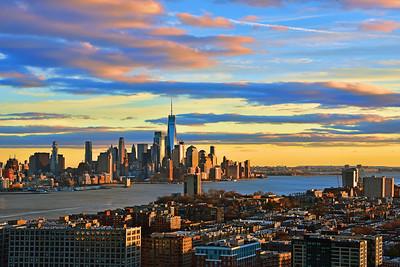 NY_NJ Golden Hour Vista