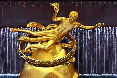 Prometheus Statue  NYC