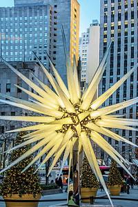 NYC Swarovski Star Display