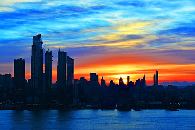 Manhattan Sunrise Glory