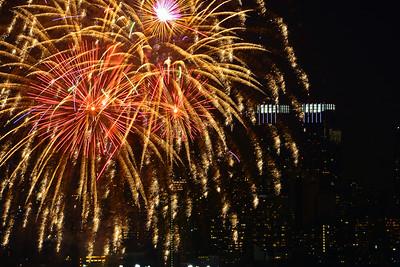 Raining Golden New Year Wishes