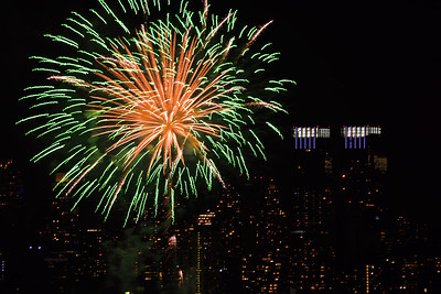 Lunar New Year Fireworks NYC #2