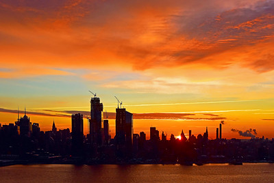 NYC Copper Sunrise
