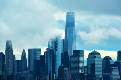 One World Trade Blue Haze