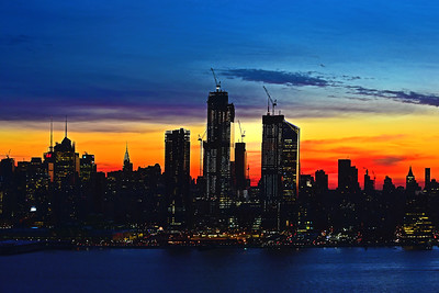 NYC Sunrise Blue Hour