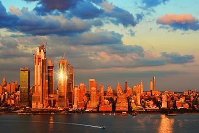 NYC Sundown Sky Drama