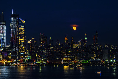 June Full Moon and Manhattan