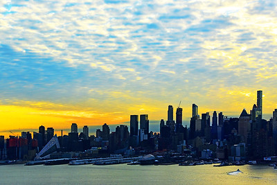 NYC Morning Glow